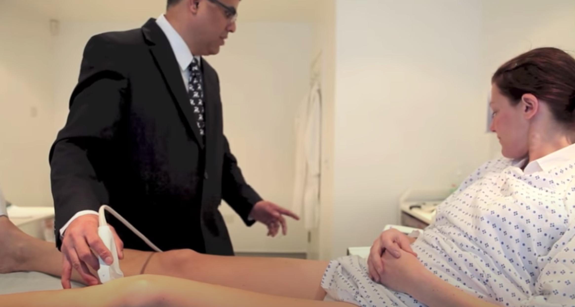 Varicose vein removal video