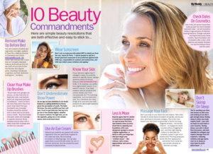 My Weekly Beauty 10 Commandments