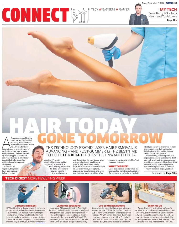 Metro laser hair removal